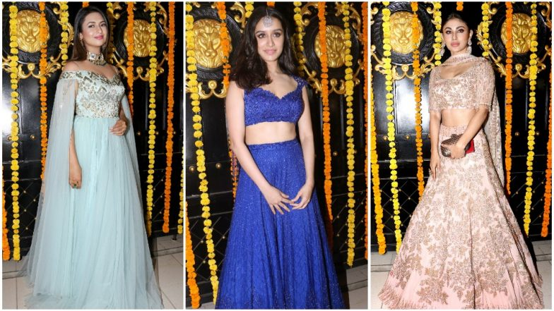 Divyanka Tripathi Dahiya, Mouni Roy and Shraddha Kapoor: Meet the Stunners at Ekta Kapoor's Diwali Bash – View Pics