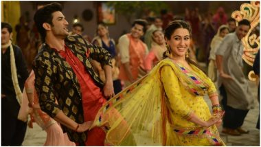 Kedarnath Song Sweetheart: Sushant Singh Rajput's Dance Moves and Sara Ali Khan's Winsome Smile Make For A Cute Combo - Watch Video
