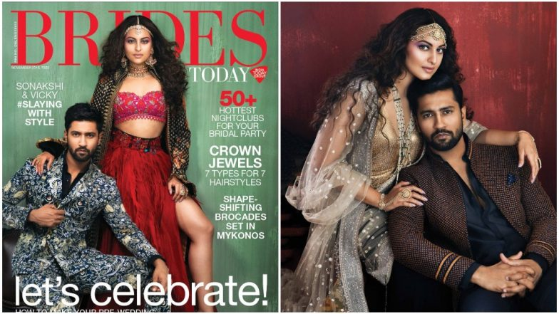 Sonakshi Sinha and Vicky Kaushal Make for an Uber Hot Pair in Their New Magazine Photoshoot - View Pics