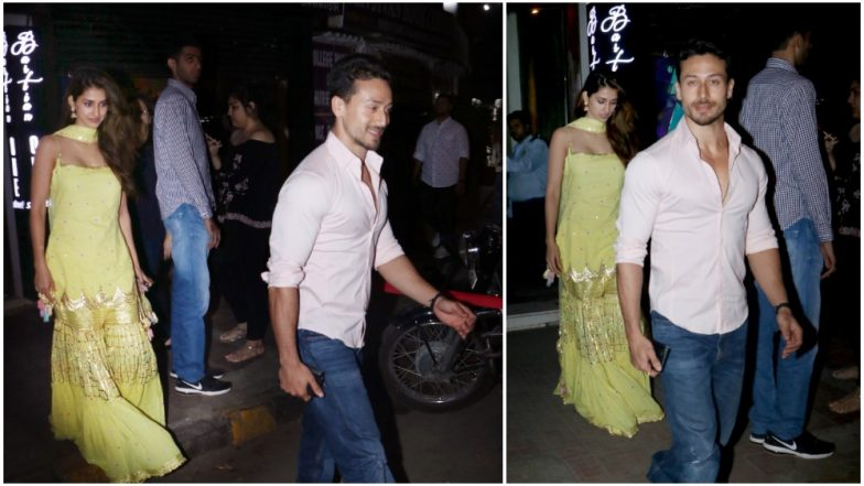 Tiger Shroff Prefers His Cozy Dinner Date With Girlfriend Disha Patani Over Any Other Bollywood Diwali Parties – View Pics