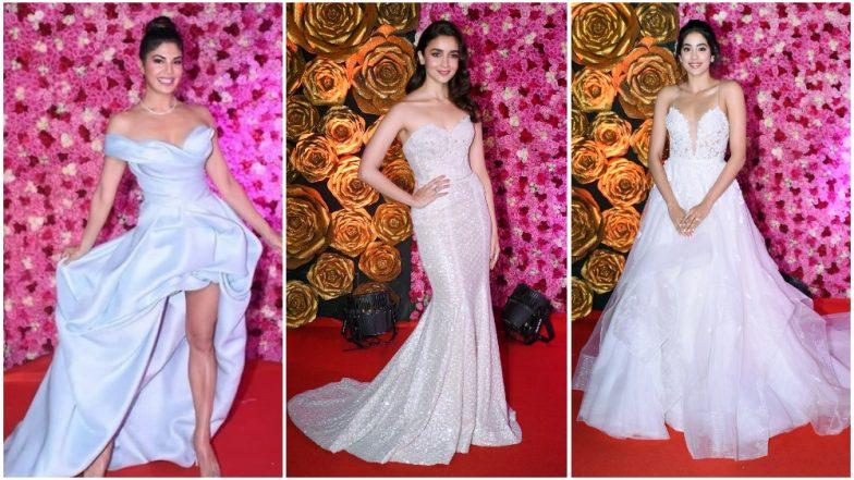 Lux Golden Rose Awards 2018 Best Dressed: Alia Bhatt, Janhvi Kapoor and Jacqueline Fernandez Make Some Eye Popping Style Statements on the Red Carpet