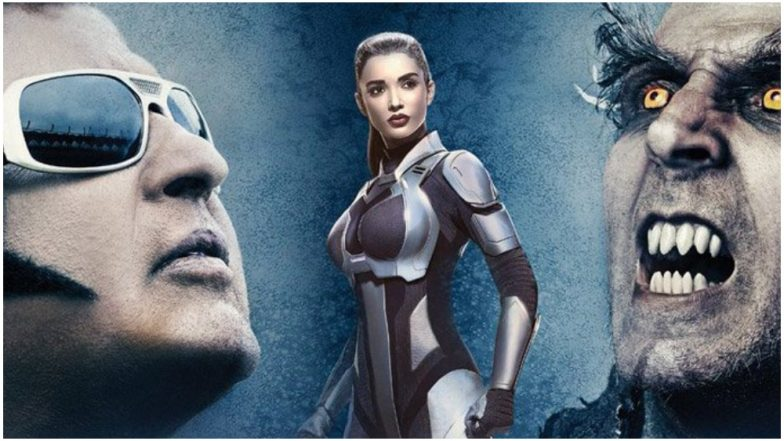 2.0 Box Office Collections: Rajinikanth and Akshay Kumar's Film Grosses Rs 600 Crore Worldwide