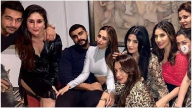 Malaika Arora and Arjun Kapoor Get 'Close and Cozy' in Their Recent Picture With Her Gang of Friends