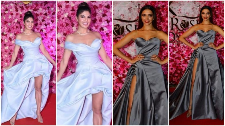 Lux Golden Rose Awards 2018: Jacqueline Fernandez's Outing Vaguely Reminded Us of Deepika Padukone's Appearance in 2016