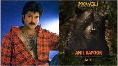 Mowgli: Anil Kapoor's Casting as Baloo Gets a Very 'Hairy' Response From Twitterati - Read Tweets