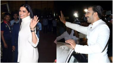 Ranveer Singh and Deepika Padukone Have a Small Tiff Before Leaving For Their Italian Wedding and The Reason is Amusing - Watch Video