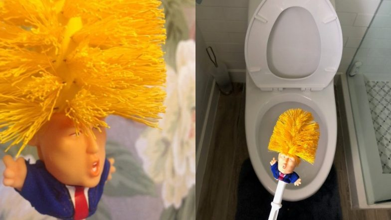 'Make Your Toilet Great Again'! Donald Trump Toilet Brushes Are on High Demand Online