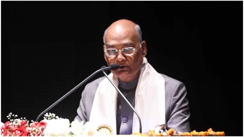 Eid Milad Un Nabi 2018 Mubarak and Wishes in Urdu: President Ram Nath Kovind Extends Greetings on Prophet Muhammad's Birthday