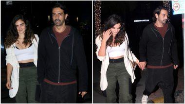 Meet Arjun Rampal's New Girlfriend, Gabriella Demetriade, As They Go Out On A Cosy Date - View Pics