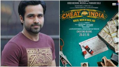 Cheat India: The Makers of Emraan Hashmi's Film Celebrate National Education Day With This Cheeky Video