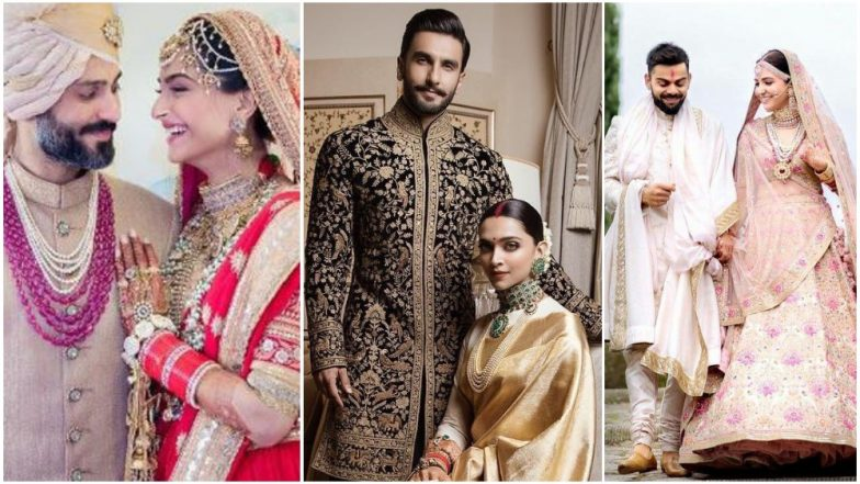 Trendy Tuesday: From Pastel Shades to Footwear Fashion: Let's Have a Look at Top Wedding Trends by Celebs
