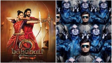 2.0: 5 Reasons Why Prabhas' Baahubali 2 is a Much Better Film Than Rajinikanth-Akshay Kumar's Sci-Fi Extravaganza