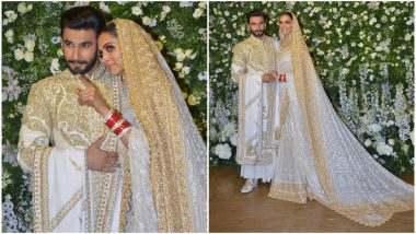 Deepika Padukone – Ranveer Singh Reception: These Inside Pictures and Videos of the Couple Mingling With Their Guests on Stage Are So Relatable