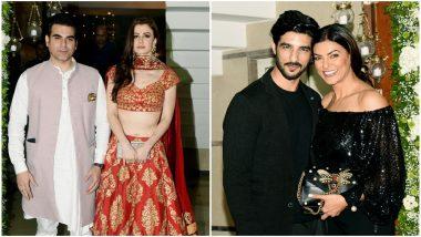 Arbaaz Khan – Georgia Adriani, Sushmita Sen-Rohman Shawl: Couples Who Graced Shilpa Shetty's Diwali Bash Last Night - View Pics