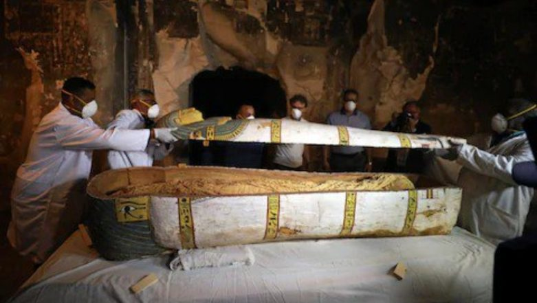 Egypt Live Telecasts Unveiling of 3,000-Year-Old Mummy in Luxor's Ancient Tomb