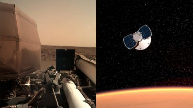 NASA's InSight Sends First Selfie After Landing on Mars (See Photo)