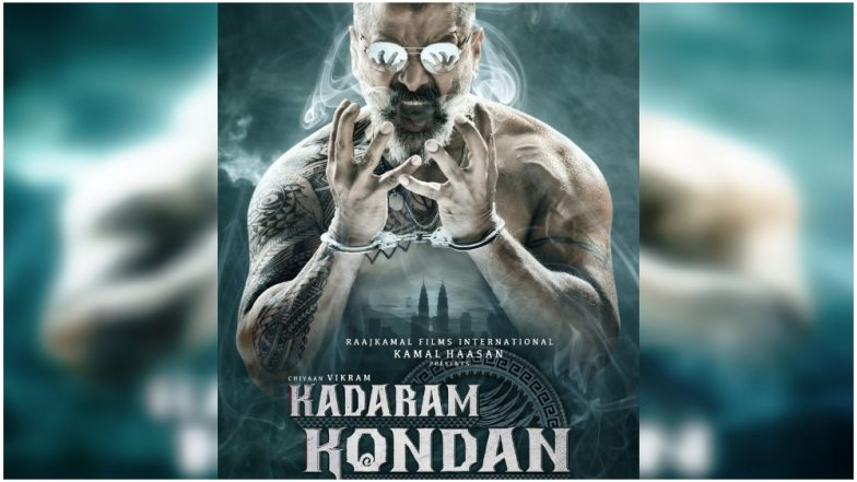 Kadaram Kondan First Look: Kamal Haasan Presents a Smoking Hot Poster of Chiyaan Vikram. Literally!