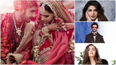 Deepika Padukone-Ranveer Singh Wedding Pictures Out! Hrithik Roshan, Alia Bhatt, Priyanka Chopra Wish The Couple Love and Happiness