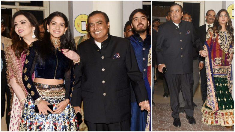 Priyanka Chopra – Nick Jonas Wedding: Anant Ambani's Rumoured Girlfriend, Radhika Merchant Will Attend the Big Event With Isha, Nita and Mukesh Ambani