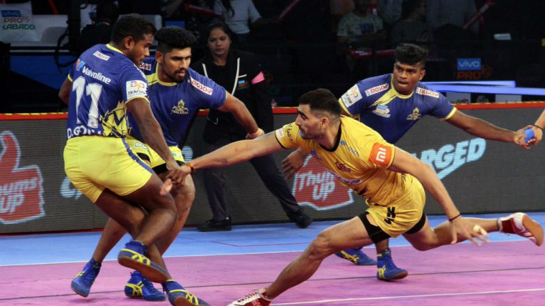PKL 2018-19 Video Highlights: Tamil Thalaivas Beat Telugu Titans 27-23