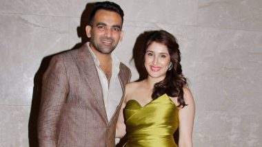 Zaheer Khan and Sagarika Ghatge Celebrate Their First Wedding Anniversary and the Actress Has the Most Adorable Wish for Her Hubby – View Pic