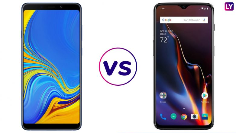 Samsung Galaxy A9 vs OnePlus 6T: Price in India, Specification, Features - Comparison