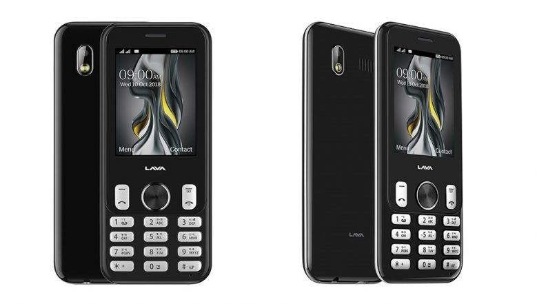 Lava Prime Z Feature Phone with 3D Front Glass Launched in India at Rs 1,900