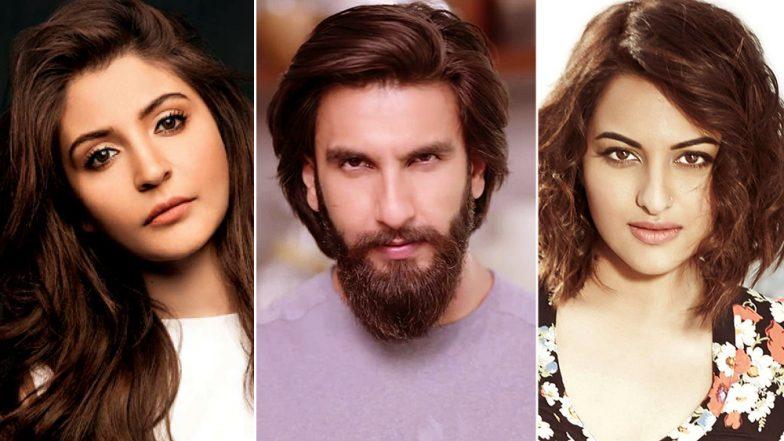 Anushka Sharma, Sonakshi Sinha, Ahana Deol: Looking Back at Ranveer Singh's Alleged Love Affairs Before Deepika Padukone