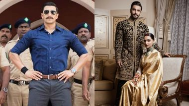 Work First! Ranveer Singh Dubs for Simmba amidst Wedding Reception Preparations - View Pic