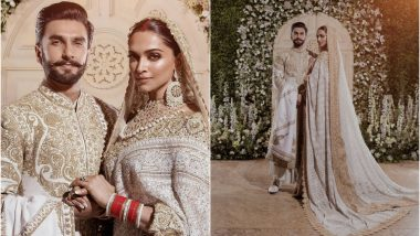 Deepika Padukone's Wedding Reception Dress Took 16,000 Man-Hours to Make – Watch Video