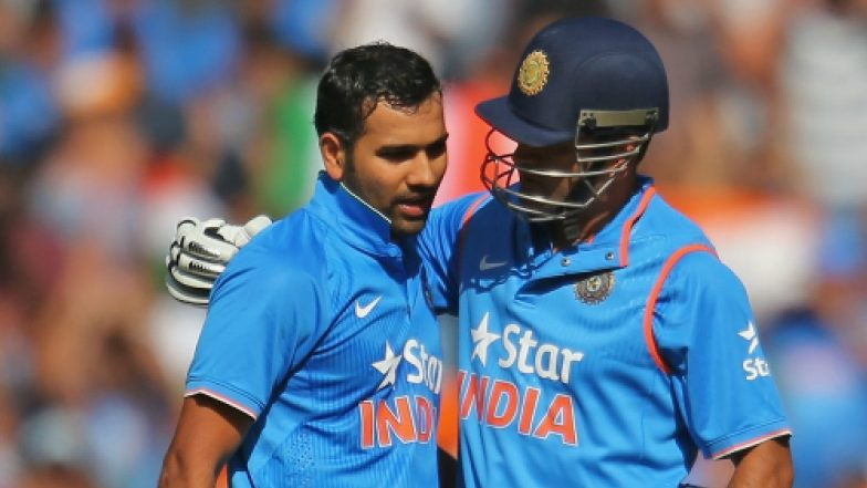 Rohit Sharma Could Join MS Dhoni in Elite List With 200 Plus Sixes During India vs West Indies 2018, 5th ODI