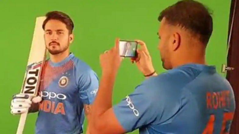 India vs Australia 2018 Video Diaries: Rohit Sharma Turns Photographer for Manish Pandey