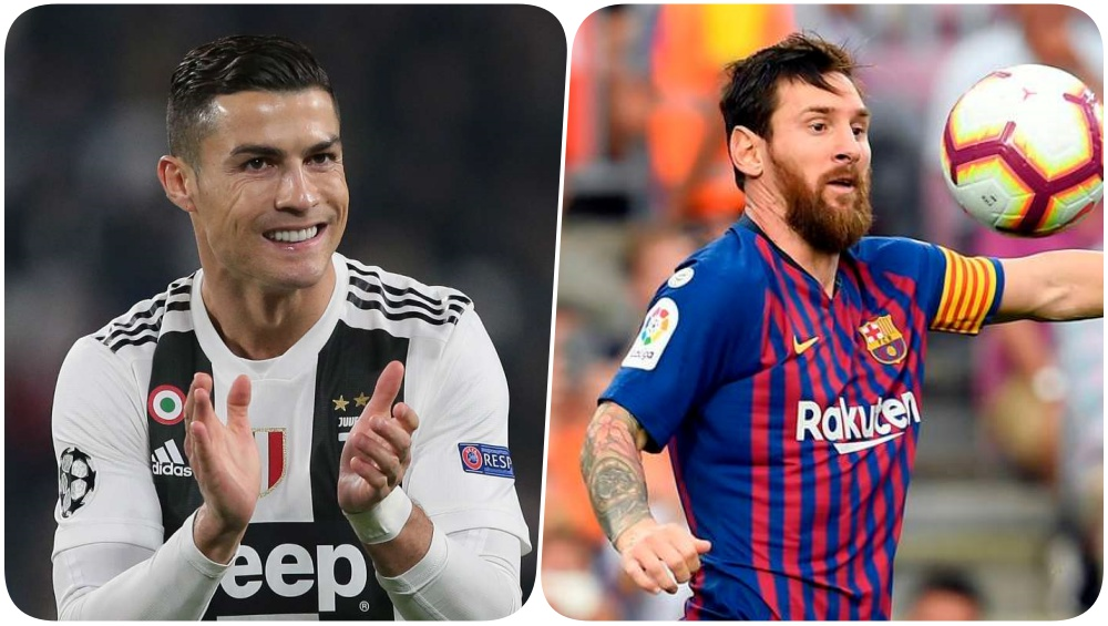 Cristiano Ronaldo vs Lionel Messi: Juventus Star Beats ...