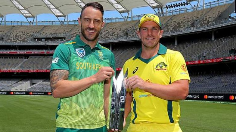 Live Cricket Streaming of Australia vs South Africa 2018 on Star Sports: Check Live Cricket Score, Watch Free Telecast of AUS vs SA 1st ODI Match on TV & Online