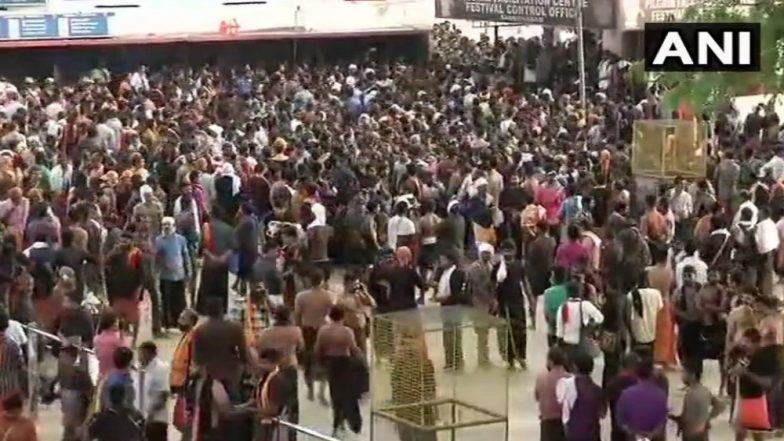 Sabarimala Temple: Clashes Intensifies After 52-Years Old Female Devotee Stopped From Offering Prayers, Media Crew Attacked