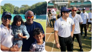 Sachin Tendulkar & Vinod Kambli Conduct Training Camp for Kids in Pune (See Pics)