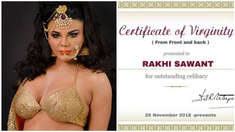 Dear Deepak Kalal, Rakhi Sawant's Virginity Certificate Is Something No One Asked For – View Pics