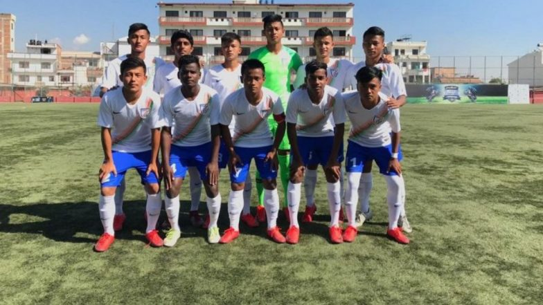 SAFF U-15 Football Championship 2018: India Beat Nepal by 1-0