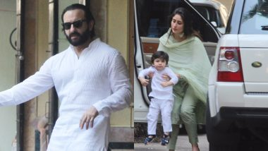 Here Are Pics of Taimur Twinning With His Dad Saif and Now It's a Happy Diwali