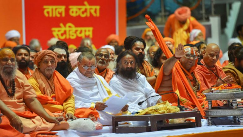 Ram Temple in Ayodhya: Hindu Seers Push For Law, Will Hold Meetings Across Nation