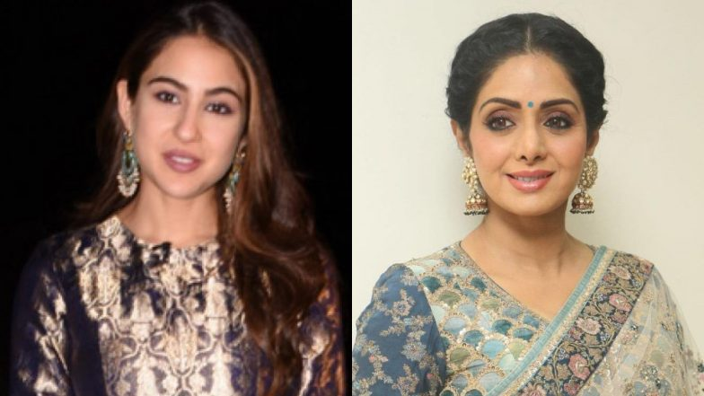 Sara Ali Khan's Role Model Is Sridevi, Says She Took Cues from Her Dance Numbers While Shooting for Simmba – Watch Video