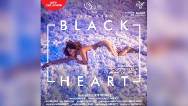 Ssara Khan Goes Nude For The First Look Of Her Upcoming Song Blackheart; Gets Trolled On Social Media