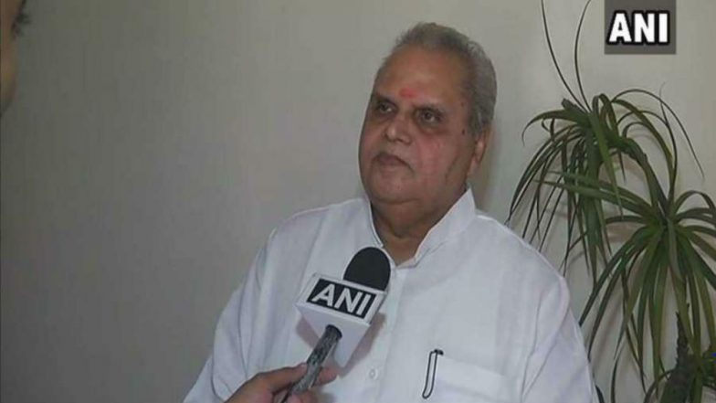 Jammu and Kashmir Governor Satya Pal Malik on Terrorism: Exists in the Mind and Has to Be Tackled at the Root