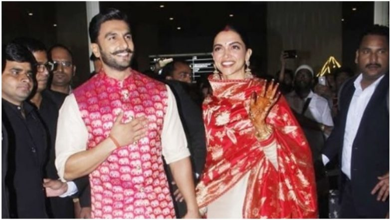 Deepika Padukone and Ranveer Singh Return to India as a Happily Married Couple Post Their Italian Wedding – View Pics