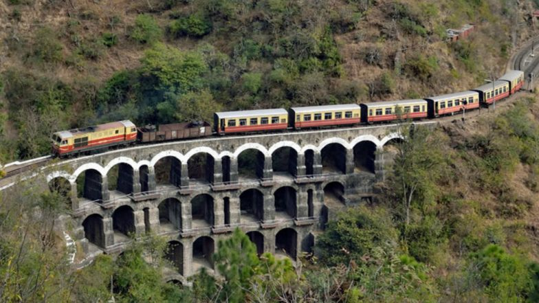 Kalka-Shimla Railway Route: Selfie Point at Shogi to Let Tourists Capture 'Glorious' Past on Himachal's British-Era Rail Track