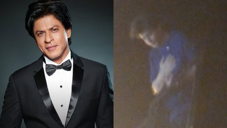 Shah Rukh Khan Rings His 53rd Birthday With Fans at Midnight – View First Pics