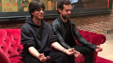 Shah Rukh Khan and Twitter CEO Jack Dorsey Chill after a Twitter Banter – View Pic