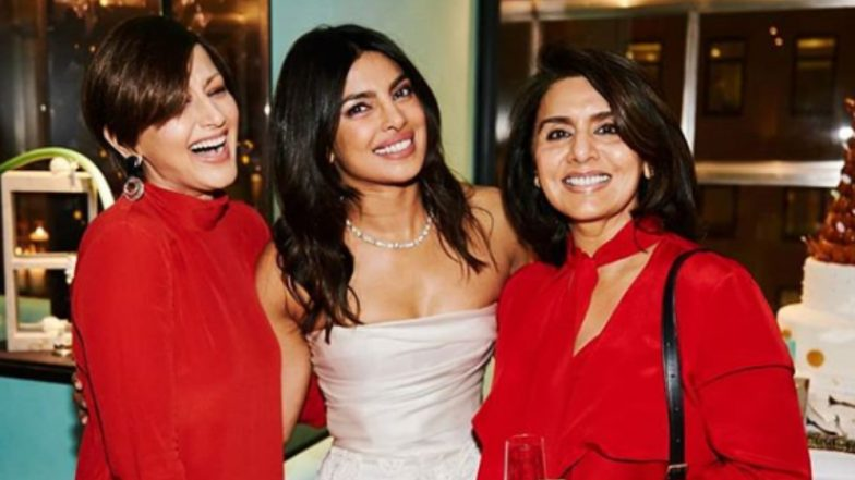 Sonali Bendre Felt 'Strange' Wearing a Bright Colour to Priyanka Chopra's Bachelorette Party