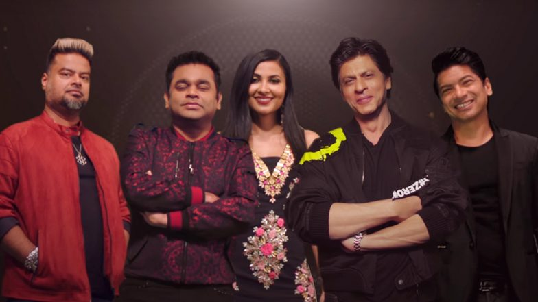 ARRived Anthem: AR Rahman and Shah Rukh Khan Come Together For This Captivating Single to Promote Online Reality Show - Watch Video