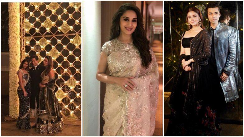 Shah Rukh Khan's Diwali 2018 Party: Kareena Kapoor Khan, Malaika-Arjun, Karan Johar, Alia Bhatt and Other Bollywood Celebs Grace The Bash Looking Splendid (View Pics)